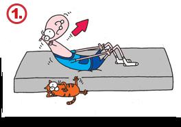 Gerinctorna gyakorlat, felülés