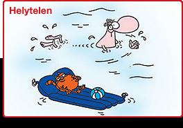 Helytelen úszás